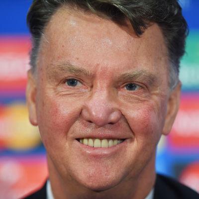 Louis van Gaal, tränare för Manchester United.