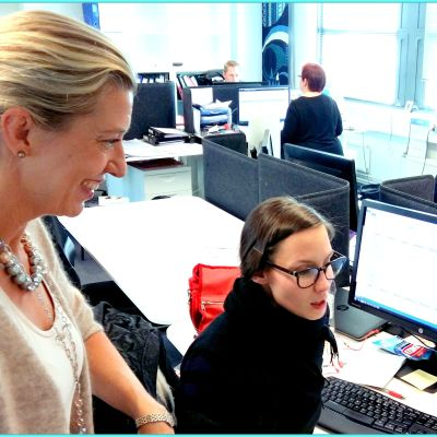 Clarisse Berggårdh, vd på mediebyrån IUM