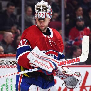 Antti Niemi i Montreals tröja.