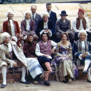Ensemblen från Jeppe på Berget på Lurens 1967.