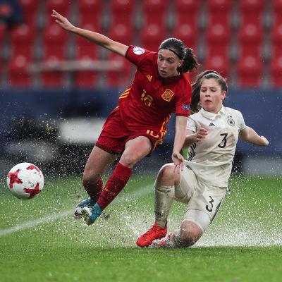 Tyskland och Spanien möttes i finalen av U17-EM 2017.