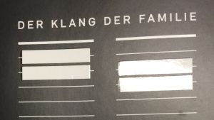 Der Klang der Familie (2012)