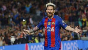 Lionel Messi nyckelspelare för FC Barcelona.