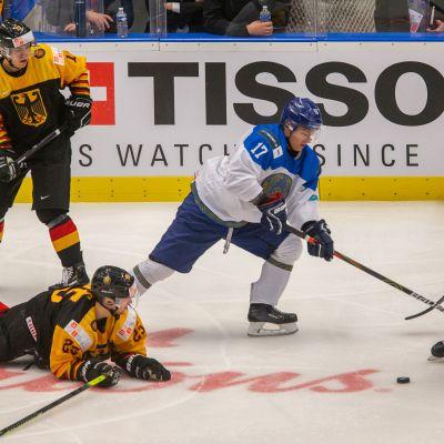 Suomi ja Saksa kohtasivat myös vuosi sitten nuorten MM-kisoissa