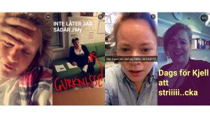 Snapchat, X3M