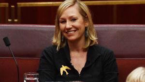 Den australiska senatorn Larissa Waters.
