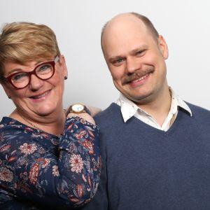 Jaana Selin ja Olli Haapakangas.