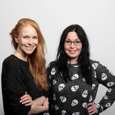 Jenny Rostain ja Maria Jyrkäs.