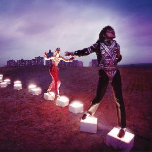 """An Illuminating Path"" - fotokonst av David LaChapelle"
