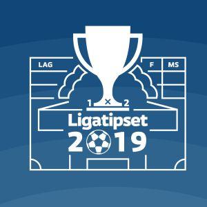 Logotyp för #Ligatipset2019.