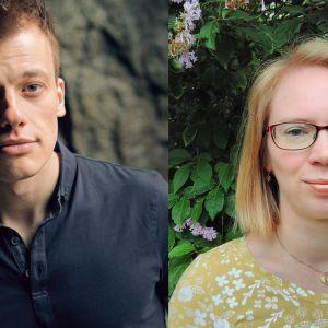 Kollage av Kaj Korkea-aho och Maria Turtschaninoff.