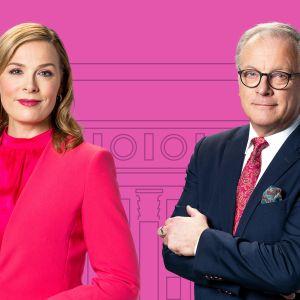 Eduskuntavaalit 2019 tulosillan juontavat Piia Pasanen ja Matti Rönkä.