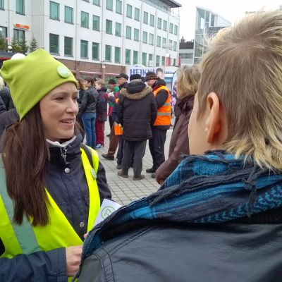 Liisa Ansala, keskustan kansanedustajaehdokas