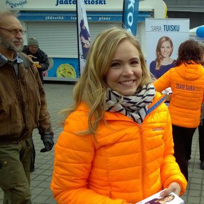 Sara Tuisku, kokoomuksen kansanedustajaehdokas