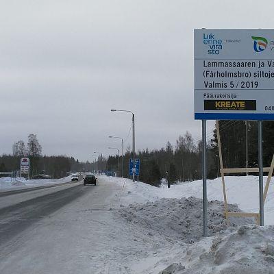 Lammassaaren ja Varassaaren sillat uusitaan.