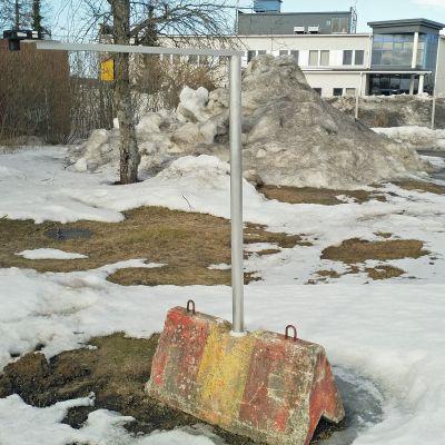 Lumianturi mittaa sataneen lumen määrän.