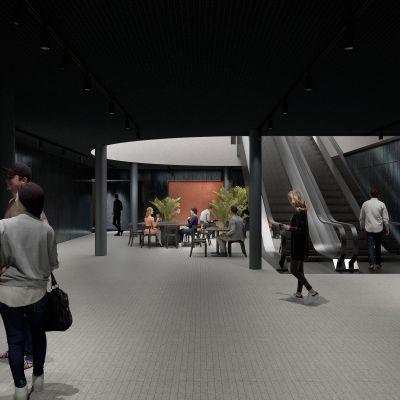 Uuden tilan suunnittelusta Kämp Galleriaan vastaa arkkitehtitoimisto Futudesign.