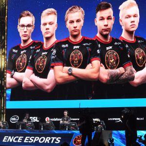 E-sportlaget ENCE.