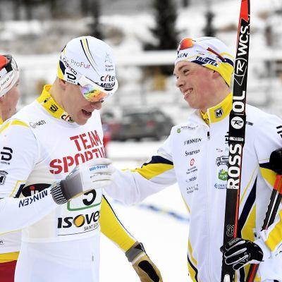 Matias Strandvall och Juuso Haarala