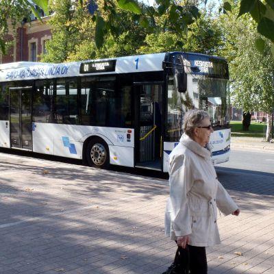 bussi Joensuussa
