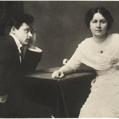 Toivo ja Alma Kuula 1914