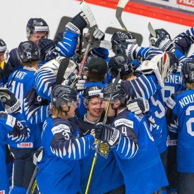 Jääkiekon U20 MM, pronssiottelu SWE - FIN