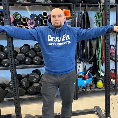 CrossFit Lappeenrannan yrittäjä Atte Kaasinen.