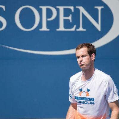 Andy Murray ser trumpen ut.