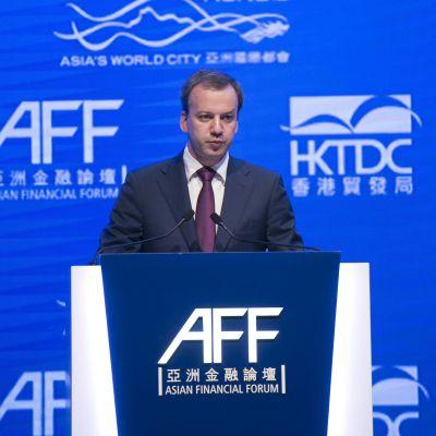 Ryssland vicepremiärminister Arkadi Dvorkovitj.