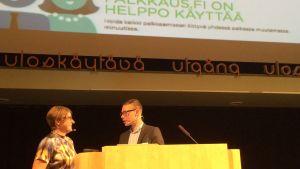 Heidi Hautala testar Palkkaus.fi