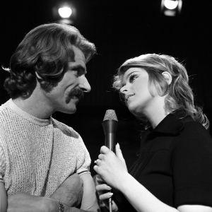 Viktor Klimenko och Marion Rung i ett ungdomsprogram 1972