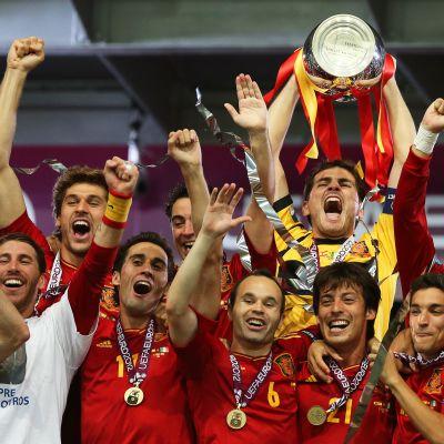 Spanien vann EM-guld 2012