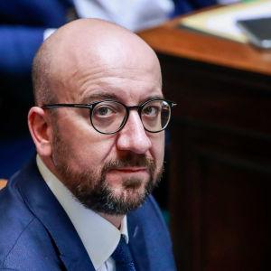 Belgiens före detta premiärminister Charles Michel.
