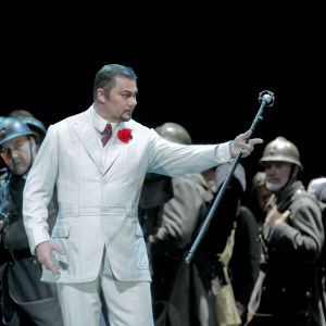 René Pape oopperassa Faust (Metropolitan 2011)