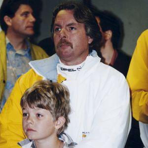 Keke och Nico Rosberg, 1994.
