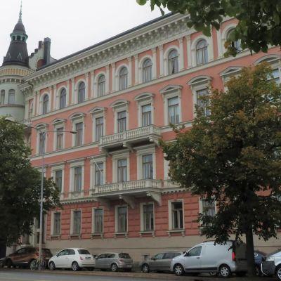 Det donnerska huset på Norra kajen 12 i Helsingfors.