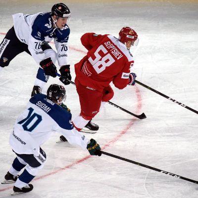 Venäjä kellisti Leijonat stadionottelussa