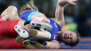 Inna Trazhukova under OS i Rio.
