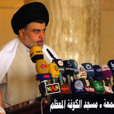 Muqtada al-Sadr.