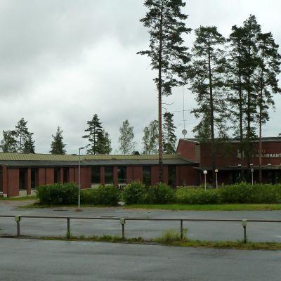 Hotelli Saimaanranta heinäkuussa 2016, tyhjillään.