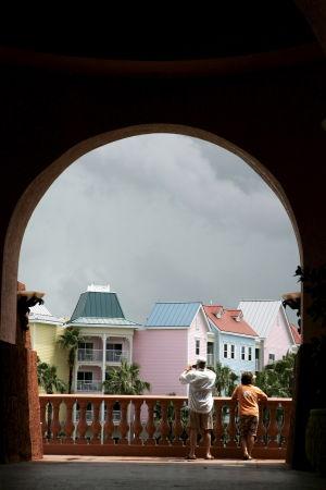 Bahamalaisia taloja pääkaupungissa Nassaussa.