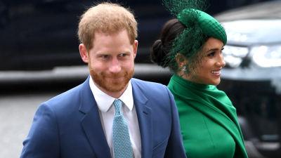 Prinssi Harry ja Meghan.