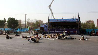 39 doda i iransk flygkrasch