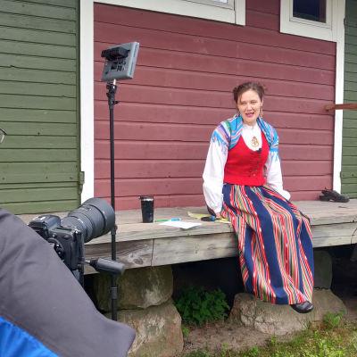 Kuvassa ohjelmajohtaja Anne-Mari Hakamäki