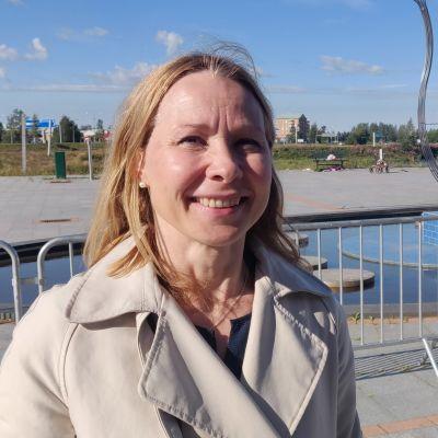 Tornionlaakson neuvoston puheenjohtaja Tuula Ajanki.