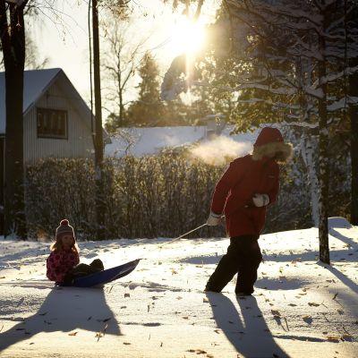 snö i helsingfors
