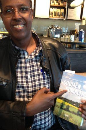Yusuf Mubarak; somalisk finländare, medförfattare till boken Suomen somalit 2015