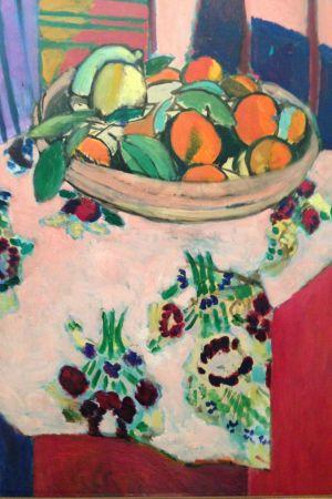 Stedelijk museum, Henri Matisse, oljemålning,  Nature morte à la corbeille d'oranges, 1912