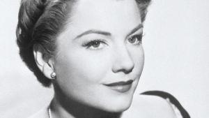 Anne Baxter on pääosassa Fritz Langin elokuvassa Sininen gardenia.