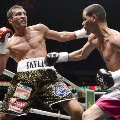 Richar Abril besegrade Edis Tatli i Helsingfors.